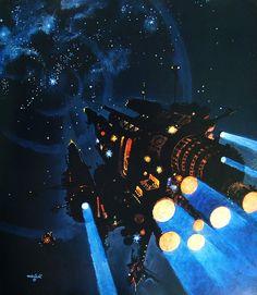 Sci-fi artist, Robert McCall (1919-2010).