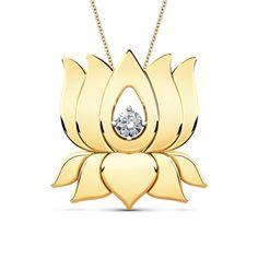 Lakshmi Lotus Pendant