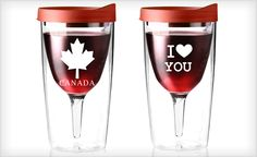 #Wine tumblers Click the pic to get the #deal