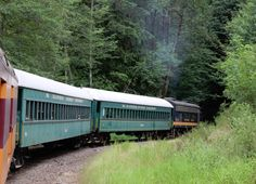 Into the Woods: Mount Rainier Scenic Railroad