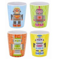 French Bull Robot Juice Cups $24.39