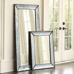 Zinc Framed Mirror; Ballard Design; 36x26; $189