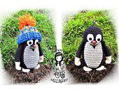 Crochet PATTERN, Mole with hat, Toy,  DIY Pattern 55