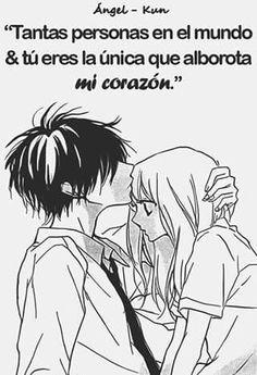 Por que eres mi destino luzma solo tu me has echo sentir lo que nadie ha echo nunca Sad Anime, Anime Love, Kawaii Anime, Romantic Quotes, Love Quotes, Give Me Strength Quotes, Love You, My Love, Love Messages