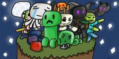 Cute Minecraft Mobs