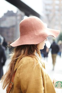 sidenote:  would like this hate hitchcockblonde:  flowerfield, Around the World in 45 Hats - The Cut