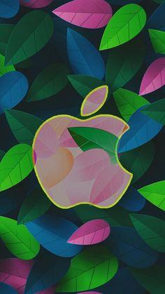 Pastel leaf apple iphone wallpapers в 2019 г. Apple Logo Wallpaper Iphone, Iphone 7 Wallpapers, Flower Phone Wallpaper, Cute Wallpaper For Phone, Summer Wallpaper, Mobile Wallpaper, Cute Wallpapers, Wallpaper Backgrounds, Iphone Logo
