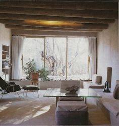Georgia O'Keeffe's home.