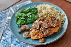 Easy Chicken with Mushrooms
