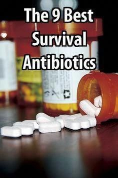 Dont be caught with a life-threatening infection when its too late. Survival antibiotics dont cost much and they could save your life. - Diy Healthy Home Remedies Urban Survival, Survival Food, Wilderness Survival, Outdoor Survival, Survival Prepping, Survival Skills, Survival Hacks, Survival Gadgets, Survival Supplies