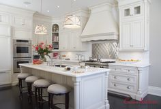 Get The Home You Deserve With Custom Kitchen Cabinets Paint Cabinets White, Building A Kitchen, Custom Kitchen Cabinets, My Dream Home, Kitchen Design, Kitchen Ideas, Home Remodeling, Countertops, Kitchen Remodel