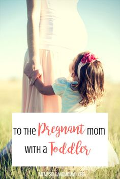 To the pregnant mom with a toddler: it is hard to grow a human inside of you, but its even harder with a toddler around. Click to read some truths about being pregnant with a toddler and my biggest advice.