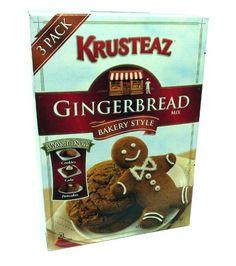 Krusteaz Gingerbread Bakery Style Mix 52.5oz by Krusteaz