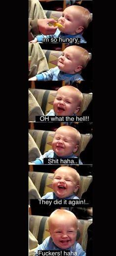 Babies eating lemons - so funny
