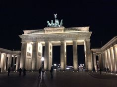 The Brandenburg Gate (German: Brandenburger Tor) is an 18th-century neoclassical triumphal arch in Berlin. It is built on the site of a former city gate that marked the start of the road from Berlin to the town of Brandenburg an der Havel.