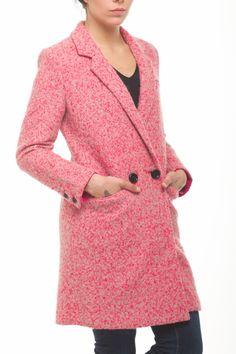Darcy Wool Mix Coach Coat