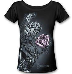 Women's Rosebud Scoop Neck By OG Abel