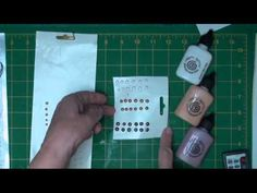 how to make pearls for cards video and also another use of alcohol based markers