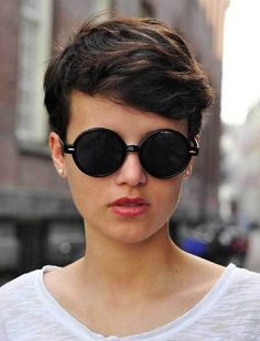 11 More Bold and Stylish Pixie Hairstyles: #8. Wavy Thick Hair Pixie