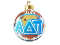 Alphie ornament on Etsy. $10