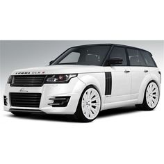 2013 Range Rover Lumma Design Front ❤ liked on Polyvore featuring cars and rides