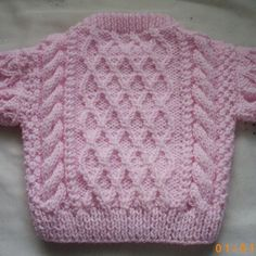 Treabhair baby aran sweater and pullover PDF knitting by PurplePup