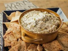 Get Pistachio Cheese Dip Recipe from Food Network