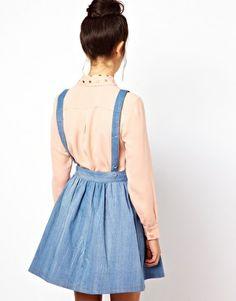 Enlarge Dahlia Denim Pinafore Dress