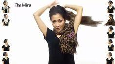 25 maneiras de usar um lenço no pescoço