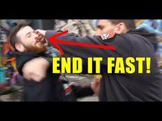 This fight ender was initially developed for bouncers who often engage from neutral positions. The shock from the initial strike disorients your subject imme. Fight Techniques, Martial Arts Techniques, Self Defense Techniques, Judo, Karate, Self Defense Moves, Learn Krav Maga, Martial Arts Workout, Street Fights