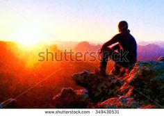 Watercolor Mountains Stok Fotoğraflar, Görseller ve Resimler   Shutterstock