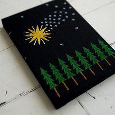 今年もあとわずか。願い事が沢山叶った年でした。 #embroidery #刺繍