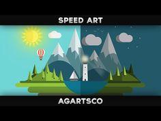 Earth Day - Flat Design - YouTube