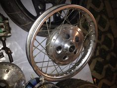 Old drum brake from sr400..vintage classic n sexy