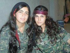 kurdish women fighters - Google Search