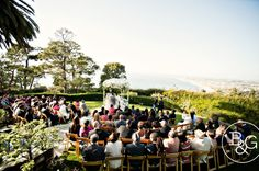 i heart venues | South Bay Wedding Venue | La Venta Inn - Palos Verdes | B & G Photography