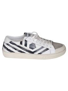 980f6b7c8eb5a M.O.A. MASTER OF ARTS M.O.A. KIT PLAYGROUND STRIPED LOW-TOP SNEAKERS.   m.o.a.masterofarts  shoes