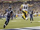 Super Bowl XL  Pittsburgh Steelers  21  Seattle Seahawks  10  Feb. 5, 2006  Ford Field  Detroit, Michigan  MVP: Hines Ward,   WR, Pittsburgh.  ***THAT WOULD BE THE FIFTH RING***