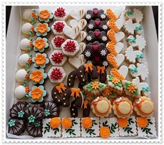 svatební cukroví Christmas Sweets, Christmas Baking, Christmas Cookies, Fondant Cupcakes, Chocolate Chip Cookies, Sugar Cookies, Biscuits, Sweet Bar, Czech Recipes