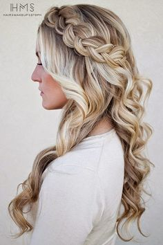 She's So Chic! #girlshairstyle #beauty