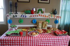 I think I really like the Caterpillar theme too!!!!  Very Hungry Caterpillar shower