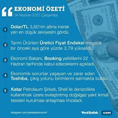 #EkonomininÖzeti 5 başlıkta ekonominin özeti #dolar #türklirası #tl #booking #toshiba #qatar #katar #shell