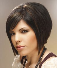 A Line Bob Smooth Face Framing Look Tapered Front. My favorite hair cut always and forever Choppy Bob Hairstyles, Long Face Hairstyles, Trending Hairstyles, Pretty Hairstyles, Medium Hairstyles, Latest Hairstyles, Short Hair Cuts, Short Hair Styles, Short Bangs
