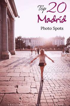 These spots in Madrid are a photographers dream! Ibiza, Madrid Guide, Madrid Restaurants, Cool Instagram, Instagram Travel, Madrid Travel, Beach Trip, Hawaii Beach, Oahu Hawaii