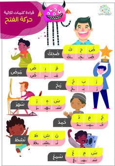 اللغة العربية حركة الكسر Teaching Kids Language Teaching