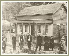 The Lillie Hungerford Brown House was built in Norwalk, CA in a beautiful building! Vintage Pictures, Old Pictures, Old Photos, Norwalk California, Old School House, Into The West, Somewhere In Time, Photo Vintage, California History
