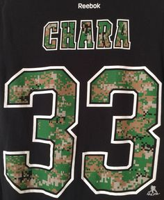 Boston Bruins Zdeno Chara 33 Digital Camo T-Shirt Size S Short Sleeve NHLPA  VGC!  431d5bba7