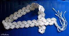 Or Crochet: Le crochet bracelet en dentelle! Crochet Chocker, Bracelet Crochet, Crochet Belt, Crochet Trim, Love Crochet, Crochet Stitches, Crochet Earrings, Crochet Patterns, Crochet Hats