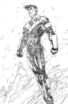 Superman Beyond by Brett Booth
