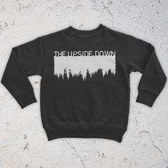 The Upside Down Sweatshirt Stranger Things by woeandshucks on Etsy
